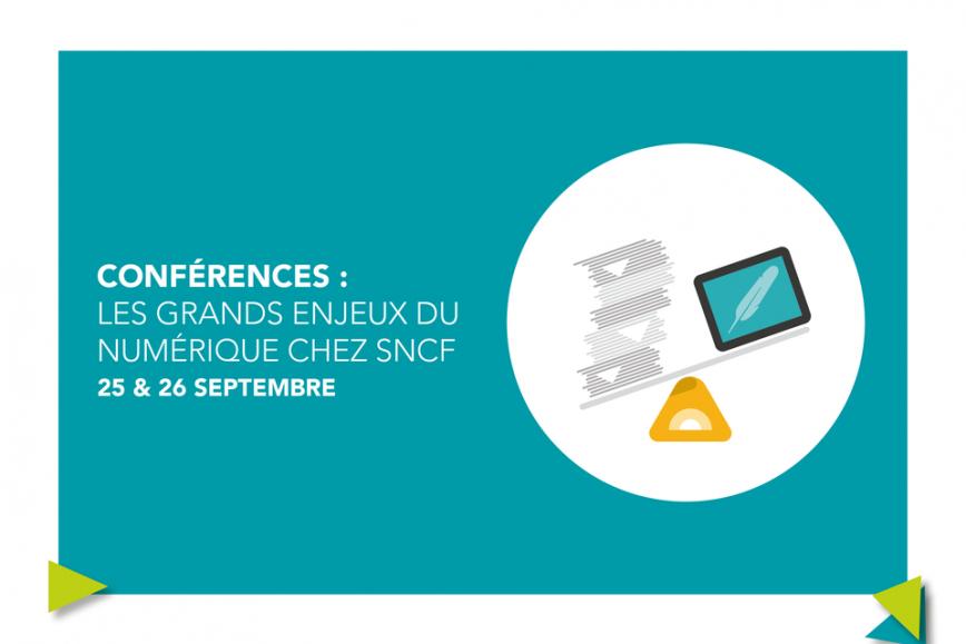 Conférence SNCF : état de l'art du numérique